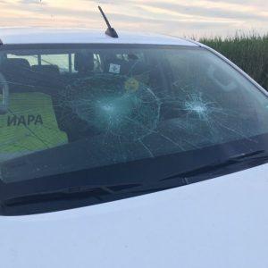 """Агресия: бракониери потрошиха автомобил на """"ИАРА"""" /СНИМКИ/"""