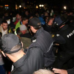 Протестиращ осъди МВР за незаконен арест
