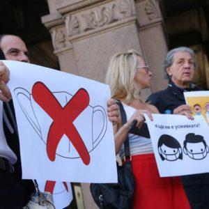 Тръгна национална Петиция срещу маските на открито