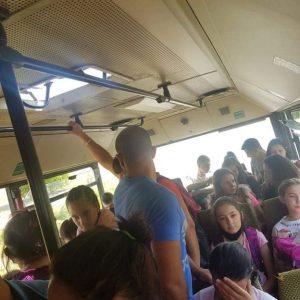 NO coment! Автобус по време на пандемия