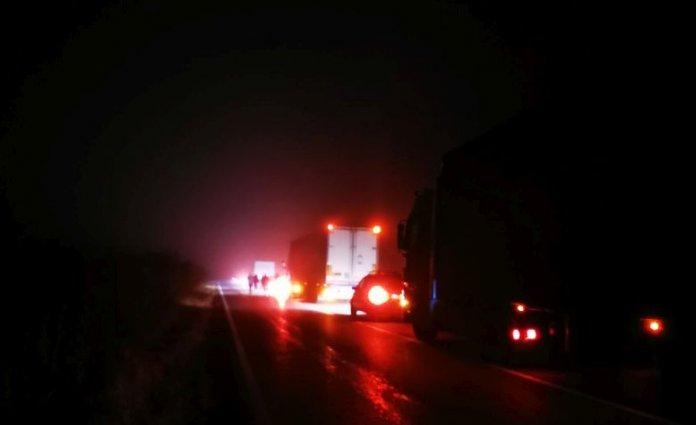 Катастрофа затруднява движението по пътя Русе – Бяла