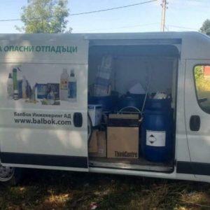 Събират опасни отпадъци в Русе